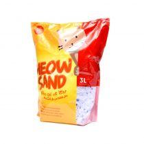 Meow Sand Silica Cat Litter 3 Ltr