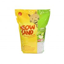 Meow Sand Apple Scented Clumping Cat Litter 5 Ltr