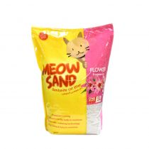 Meow Sand Flower Scented Clumping Cat Litter 5 Ltr