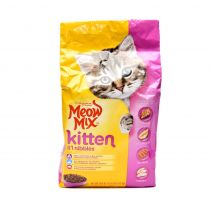 Meow Mix Cat Food Kitten Li'L Nibbles 1.43 Kg