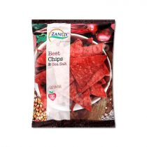 Zanuy Beet chips & sea salts 130g