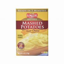 Loretta Instant Mashed Potatoes - Four Cheese 170g