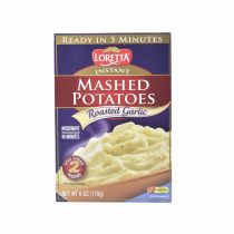 Loretta Instant Mashed Potatoes - Roasted Garlic 170g
