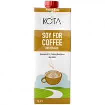 Koita Organic Soy Milk for Coffee 1Ltr