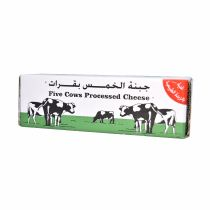 Five Cows Processed Cheese Block  1.8Kg