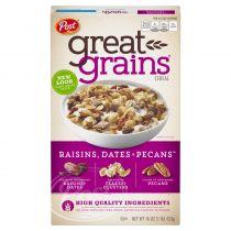 Post Great Grains Raisins, Dates & Pecans Cereal 453g