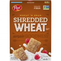 Post Shredded Wheat and Bran Cereal 510g