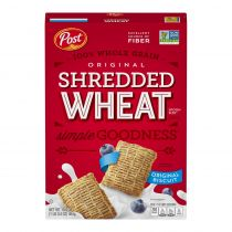 Post Shredded Wheat Original Spoon Size Cereal 464g
