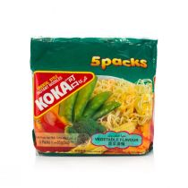 Koka Vegetable Flavored Noodles (5 Packs x 85 g)