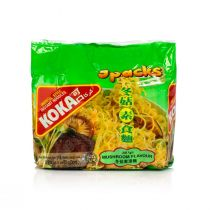 Koka Mushroom Flavored Noodles (5 packs x 85 g)