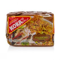 Koka Spicy Stir-Fried Flavored Noodles (5 Packs x 85g)