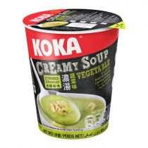 Koka Vegetable Creamy Soup with Crushed Noodles 70g