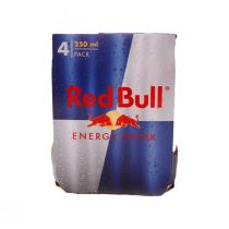 Red Bull Energy Drink (4 Pcs)