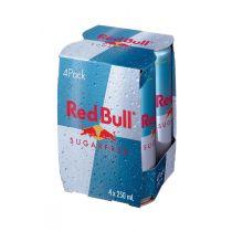 Red Bull Sugar Free Energy Drink 4x250ml