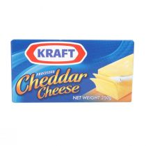 Kraft Processed Cheddar Cheese (250 g)