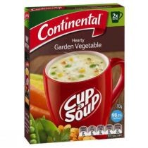 Continental Cup A Soup Hearty Garden Vegetables (2 packs x 70 g)