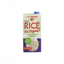 Pureharvest Organic Rice Milk Calcium 1L