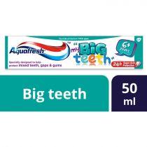 Aquafresh Big Teeth Toothpaste 50ml (6plus Years)