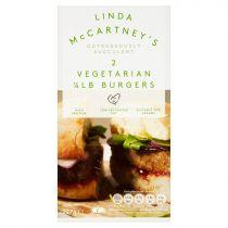 Linda McCartney's Vegetarian Quarter Pounder Burgers 227g