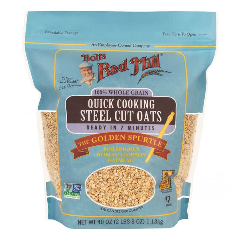 Bob S Red Mill Quick Cooking Steel Cut Oats 1 13kg