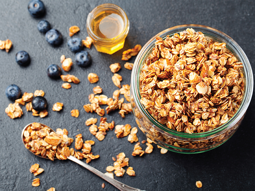 Healthy Honey Maple Granola